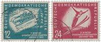 République Démocratique Allemande 1951 - Michel 280-281 - Oblitéré