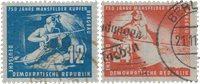 République Démocratique Allemande 1950 - Michel 273-274 - Oblitéré