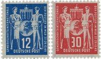 République Démocratique Allemande 1949 - Michel 243-244 - Neuf
