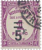 France - 1929/1931 - YT TX 65 - Oblitéré
