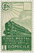 France - Colis postaux YT 176 - Neuf sans charnières