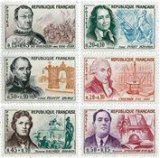 France - YT 1295-1300 neuf
