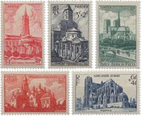 France - YT 772-76 - Neuf