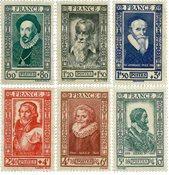 Frankrig - YT 587-92 - Postfrisk