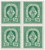 Tyskland - Tyske Rige - 4-blok  - Postfrisk