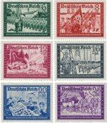 Empire Allemand 1941 - Michel 773/778 - Neuf