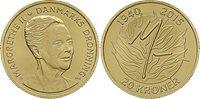Danmark 2015 - Dronning Margrethe II 75 år - 20 kr. mønt