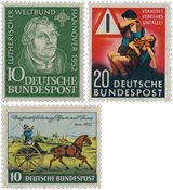Allemagne 1952/1953 - Michel 149/162 - Neuf
