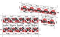EUROPA - Gamle postale ruter - Førstedagsstemplet - Helark