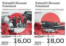 EUROPA - Gamle postale ruter - Dagstemplet - Sæt