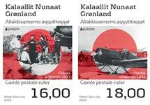 EUROPA - Gamle postale ruter - Postfrisk - Sæt