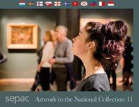Sepac 2020: Artwork in the National Collection - Førstedagsstemplet - Souvenirmappe