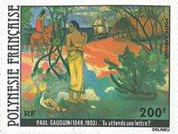 Pol. fr. 1979 YT PA144 Tableau de Gauguin