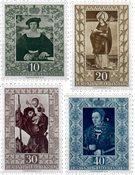 Liechtenstein 1953 - Michel  311-314 - Neuf