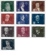 Liechtenstein 1948 - Michel  257-266 - Neuf