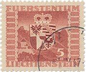 Liechtenstein 1947 - Michel 252 - Oblitéré