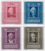 Liechtenstein 1942 - Michel  207-210 - Postfrisk