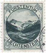 Liechtenstein 1930 - Michel 98 - Stemplet