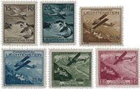 Liechtenstein 1930 - Michel 108/113 - Neuf