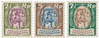 Liechtenstein 1924 - Michel 65/67 - Postfrisk