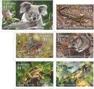 Australie - Sauvetage et protection de la Faune - Série 6v neuve