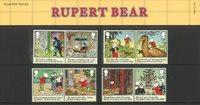England - Rupert Bjørn - Souvenirmappe