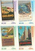 Australien - Princes Highway - Postfrisk sæt 4v