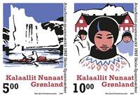 Groenland - Coupons d'épargne scolaire - Série neuve 2v