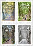 Åland - De fire årstider - Postfrisk sæt 4v