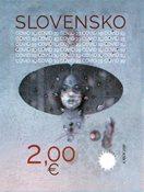 Slovakiet - Covid-19 - Postfrisk frimærke