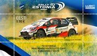 Estonie - Rallye - Bloc-feuillet neuf
