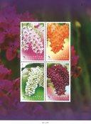 Thailand - Orkideer - Postfrisk miniark