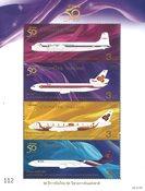 Thailand - Thai Airways - Postfrisk miniark