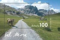 Suisse - Val Mora - Bloc-feuillet neuf