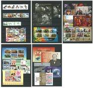 Jersey - 16 sellos  y 20 hojas bloques diferentes - usados