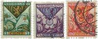 Pays-Bas - NVPH R71-R73 - Oblitéré