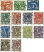 Nederland 1926-1927 - Nr. R19-R31 - Gebruikt