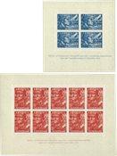 Legioenblokken 1942 - Nr. 402B-403B - Postfris
