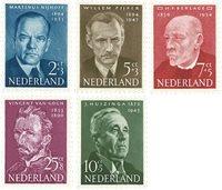Holland 1954 - NVPH 641-645 - Postfrisk