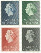 Koningin Juliana 1954-1957 - Nr. 637-640 - Postfris