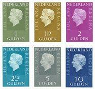 Nederland Koningin Juliana Regina - Fosfor - Nr. 952b-958b - Postfris