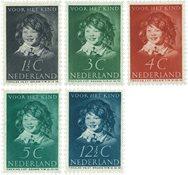 Nederland 1937 - NVPH 300-304 - Postfris