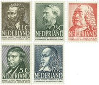 Nederland 1939 - Nr. nr 318-322 - Postfris