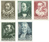 Nederland 1938 - NVPH 305-309 - Postfris