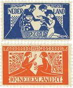 Holland 1923 - NVPH 134-135 - Postfrisk