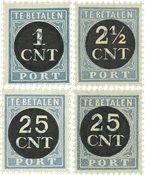 Holland 1923 - NVPH P61-P64 - Postfrisk