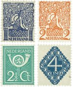 Holland 1923 - NVPH 110-113 - Postfrisk