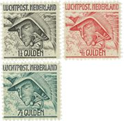 Pays-Bas 1929 - NVPH LP6-LP8 - Neuf