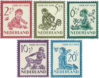 Holland 1950 - NVPH 563-567 - Postfrisk