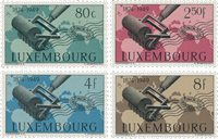 Luxembourg 1949 - Michel 460/63 - Neuf